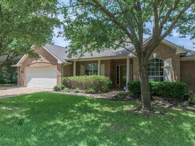 Round Rock Single Family Home For Sale: 2714 Loyaga Dr