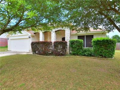 Pflugerville Single Family Home For Sale: 1303 Laurelleaf Dr
