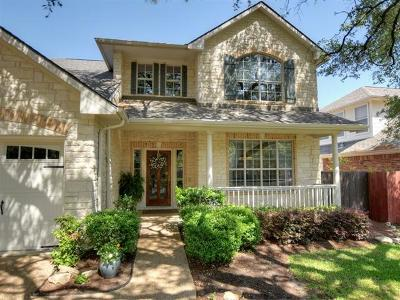 Round Rock Single Family Home For Sale: 9017 Wildwater Way