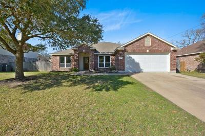 Round Rock Single Family Home For Sale: 1732 Woods Blvd