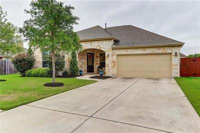 Cedar Park Single Family Home For Sale: 3106 Herrero Path