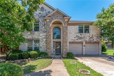 Leander Single Family Home For Sale: 1606 Silver Spur Cv