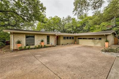 Austin Single Family Home For Sale: 3807 Hillbrook Dr
