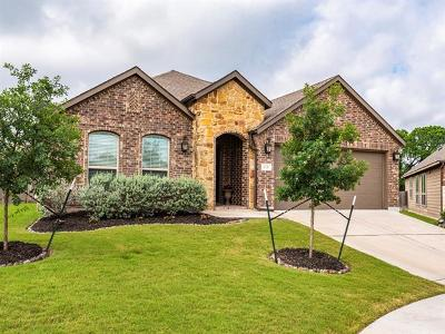 Hutto Single Family Home Pending - Taking Backups: 123 Buescher Cv