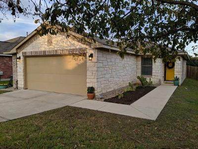 Travis County Single Family Home Pending - Taking Backups: 12029 Eruzione Dr