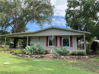 Burnet County Single Family Home Pending - Taking Backups: 314 Clear Creek Dr