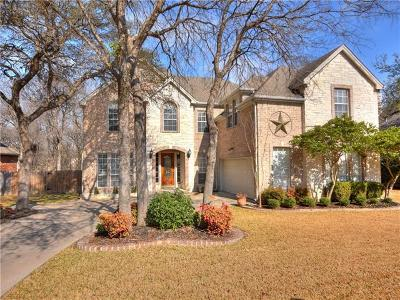 Round Rock Single Family Home For Sale: 1613 Mesa Verde Dr