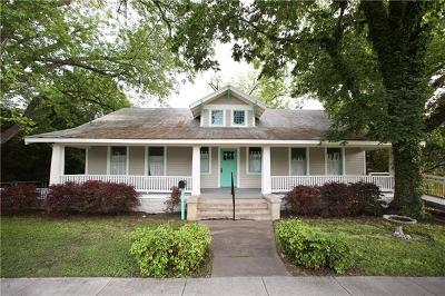 Bastrop Single Family Home For Sale: 805 Spring St