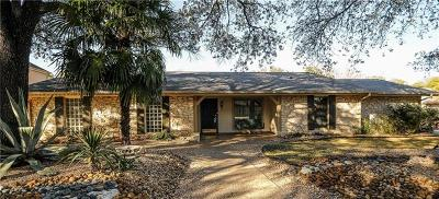 Austin Single Family Home For Sale: 8706 Balcones Club Dr