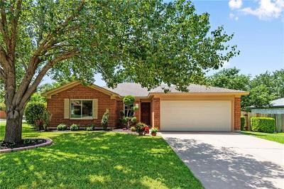 Cedar Park Single Family Home For Sale: 2109 E Gann Hill Dr