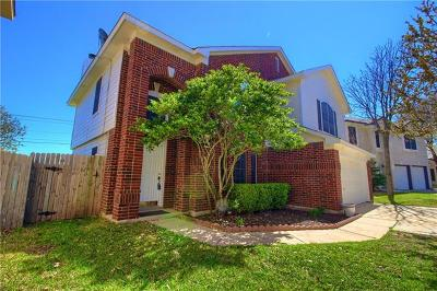 Round Rock Single Family Home For Sale: 1605 Jennifer Ct