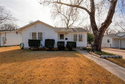 Travis County Single Family Home Pending - Taking Backups: 1001 Karen Ave