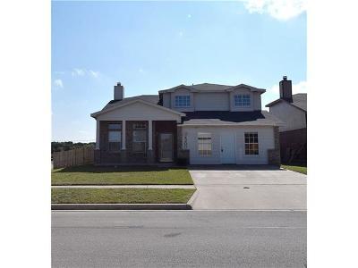 Killeen Single Family Home For Sale: 4200 Indigo Dr