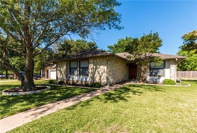 Round Rock Single Family Home For Sale: 1728 Zimmerman Ln