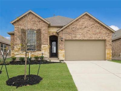 Round Rock Single Family Home For Sale: 6809 Brindisi Pl