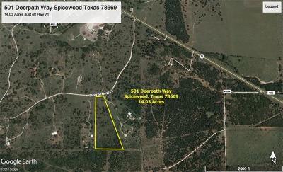 Spicewood Farm For Sale: 501 Deerpath Way