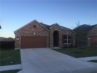 Leander Single Family Home For Sale: 1512 Bovina Dr