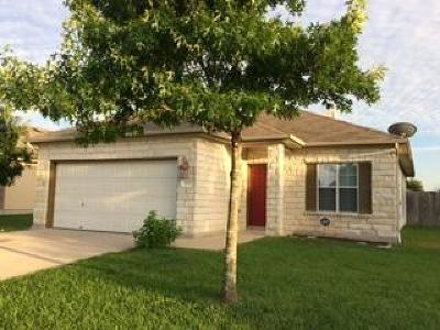 Hutto TX Single Family Home Pending - Taking Backups: $189,990