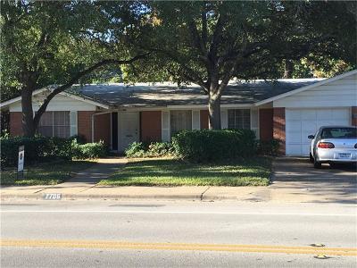 Travis County Single Family Home Pending - Taking Backups: 7706 Shoal Creek Blvd