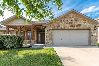 Round Rock Single Family Home For Sale: 19608 Cheyenne Valley Dr