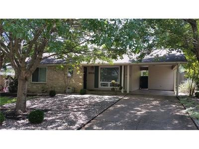 Austin Single Family Home For Sale: 2705 W 49th St