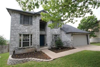 Round Rock Single Family Home For Sale: 1311 Solitaire