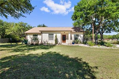 Cedar Park Single Family Home Pending - Taking Backups: 707 Royal Ln