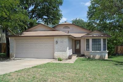 Cedar Park Single Family Home For Sale: 608 Live Oak Dr
