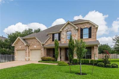 Cedar Park Single Family Home For Sale: 434 Ridgetop Bnd