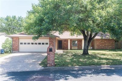Travis County, Williamson County Single Family Home Pending - Taking Backups: 3909 Skipton Dr