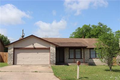 Round Rock Single Family Home Pending - Taking Backups: 2202 Wagon Gap Dr