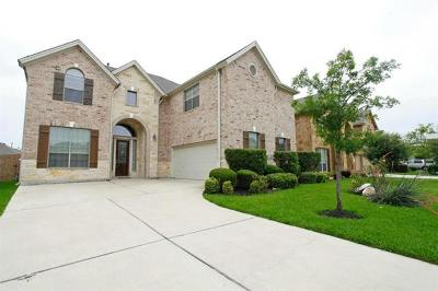 Round Rock Single Family Home For Sale: 2925 Laurel Grove Way