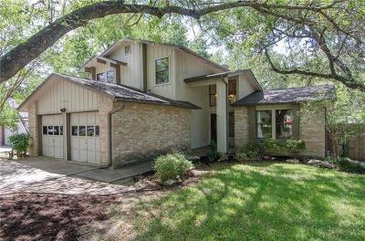 Round Rock Single Family Home For Sale: 1624 Scenic Loop