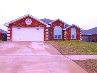 Killeen Single Family Home For Sale: 3704 Republic Of Texas Dr