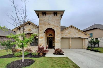 Pflugerville Single Family Home Pending - Taking Backups: 16224 Cantania Cv