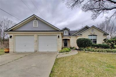 Pflugerville Single Family Home Pending - Taking Backups: 14800 Parco Path