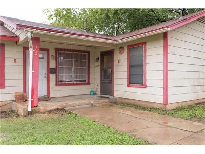 Austin Multi Family Home Pending - Taking Backups: 7508 Providence Ave