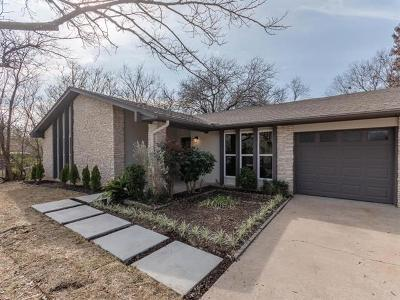 Travis County Single Family Home Pending - Taking Backups: 1311 Cripple Creek Dr