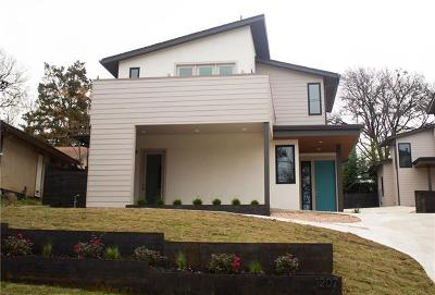 Austin Single Family Home For Sale: 1207 Deloney St #A