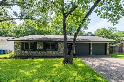 Austin Single Family Home For Sale: 8506 Millway Dr