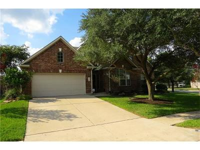 Pflugerville Single Family Home Pending - Taking Backups: 2416 Kapalua Pl
