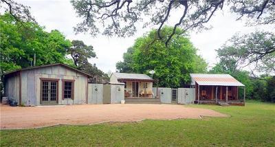 Wimberley Single Family Home Pending - Taking Backups: 109 Carol Ln