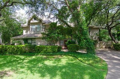 Travis County, Williamson County Single Family Home For Sale: 6308 Leatherwood Cv