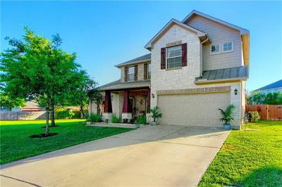 Pflugerville Single Family Home Pending - Taking Backups: 2605 Thornblade Ct