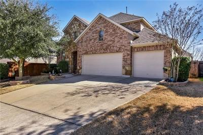 Pflugerville Single Family Home Pending - Taking Backups: 18937 Canyon Sage Ln