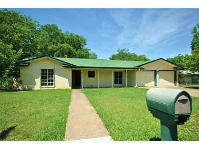Round Rock Single Family Home For Sale: 1902 Montclair Dr