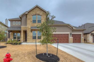Cedar Park Single Family Home For Sale: 3113 Palominos Pass