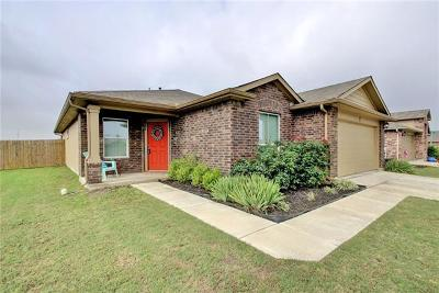 Hutto Single Family Home For Sale: 504 Luna Vista Dr