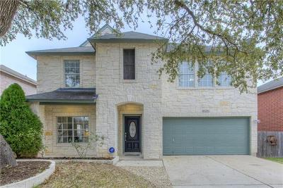 Hays County, Travis County, Williamson County Single Family Home Pending - Taking Backups: 8505 Kansas River Dr