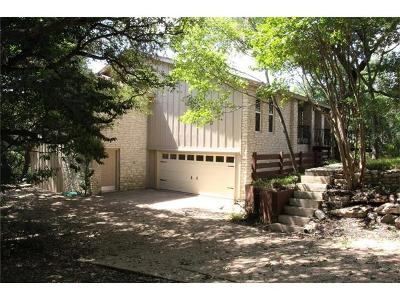 Single Family Home Pending - Taking Backups: 11801 Balcones Way